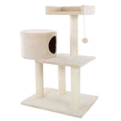 31 in. 3-Tier Cat Tree and Condo