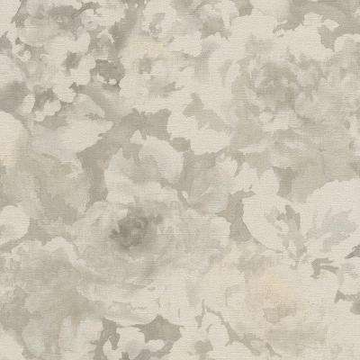 Watercolor Splatters Abstract Grey and White Wallpaper