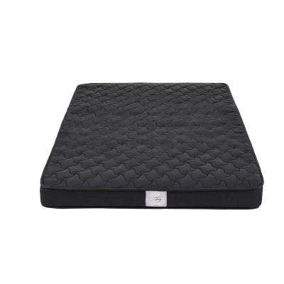 Vitality Twin Size 6 in. Reversible Coil Black Mattress with CertiPUR-US Certified Foam