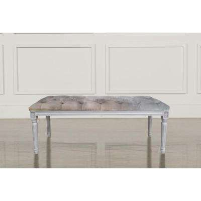 gray bedroom benches bedroom furniture the home depot