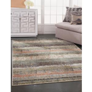 Sams International Sonoma Audry Green Pink Multi 8 Ft X 11 Area Rug 7304 8x10 The Home Depot