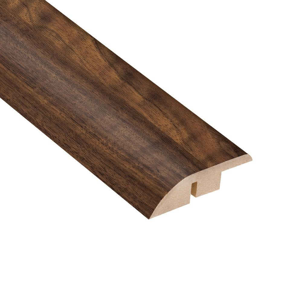 TrafficMASTER Spanish Bay Walnut 12.7 mm Thick x 1-3/4 in. Wide x 94 in. Length Laminate Hard Surface Reducer Molding-DISCONTINUED