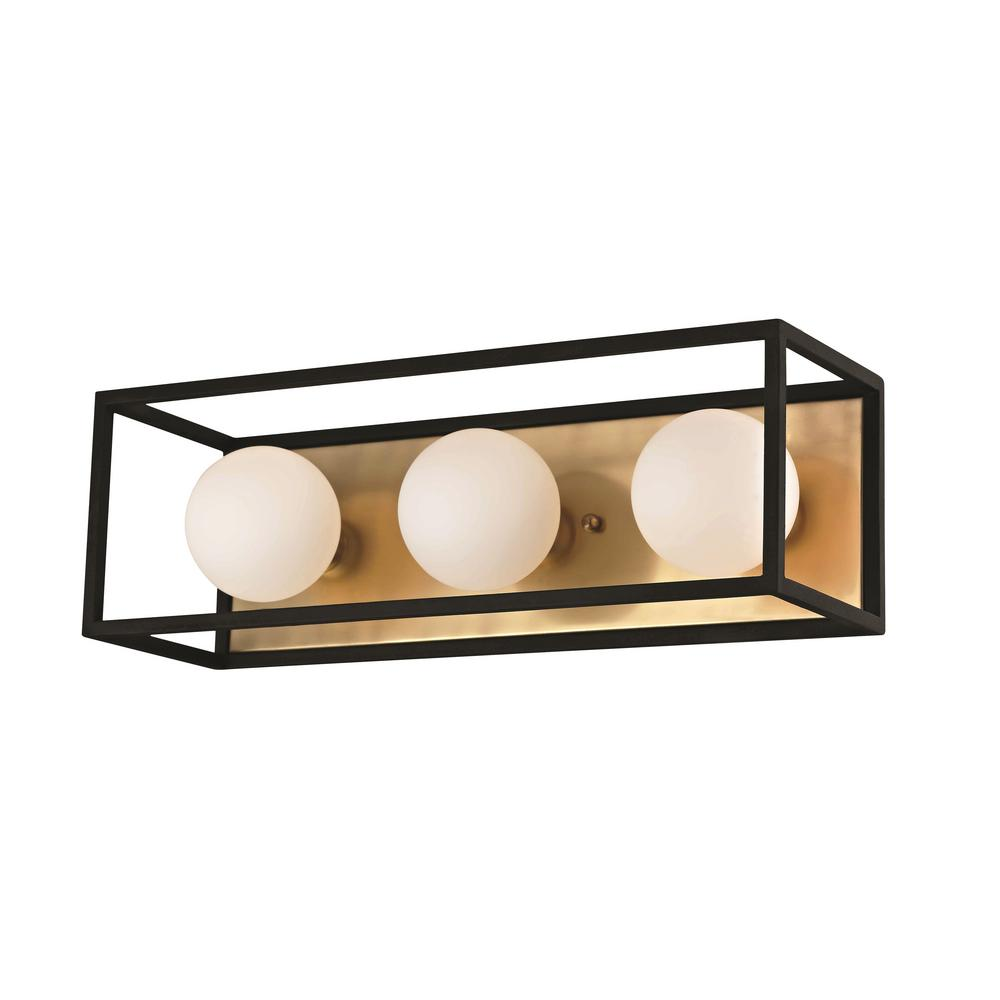 Mitzi by Hudson Valley Lighting Aira 3-Light Aged Brass 15 in. W LED  sc 1 st  Home Depot & Mitzi by Hudson Valley Lighting Aira 3-Light Aged Brass 15 in. W LED ...