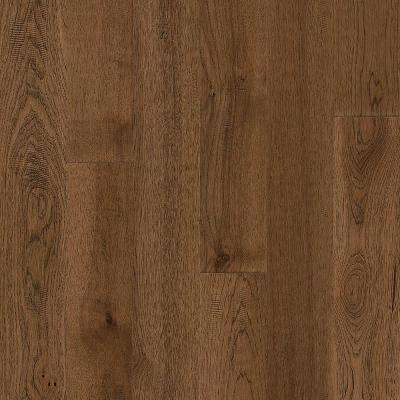 Take Home Sample - Hydropel Hickory Light Brown Engineered Hardwood Flooring - 5 in. x 7 in.