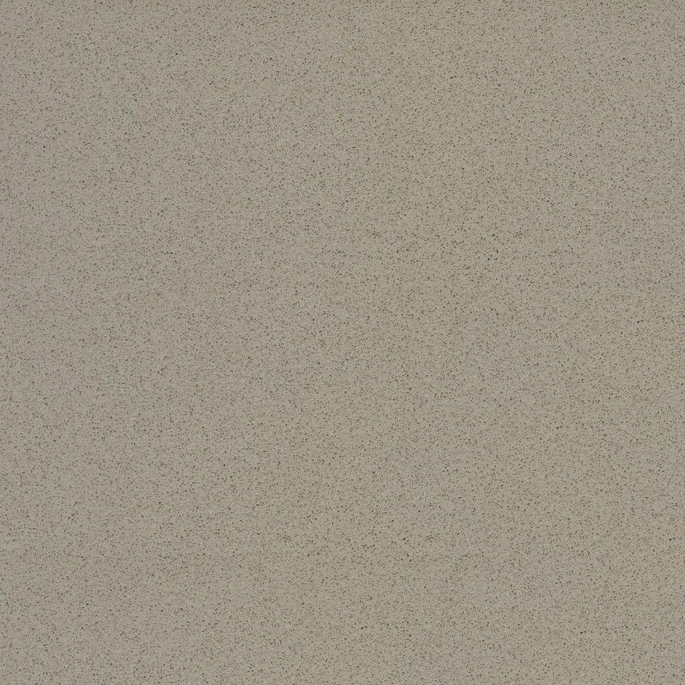 2 in. x 4 in. Quartz Countertop Sample in Lena