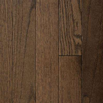 Oak Bourbon 3/4 in. Thick x 2-1/4 in. Wide x Varying Length Solid Hardwood Flooring (24 sq. ft. / case)