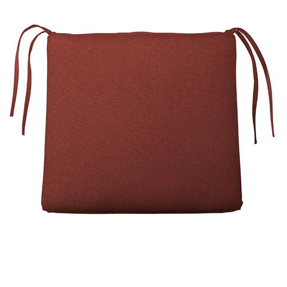 Home Decorators Collection Sunbrella Henna Trapezoid Outdoor Seat Cushion