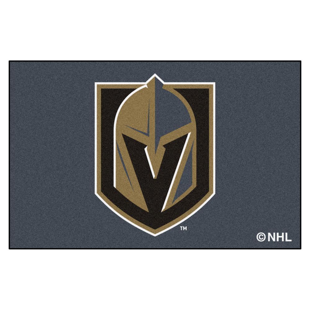 eaccebc0b FANMATS NHL - Vegas Golden Knights 19 in. x 30 in. Starter Mat Area ...