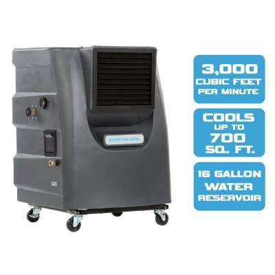 Portacool Cyclone 130 3000 Cfm 2 Sd Portable Evaporative Cooler For 700 Sq Ft Paccy130ga1 The Home Depot