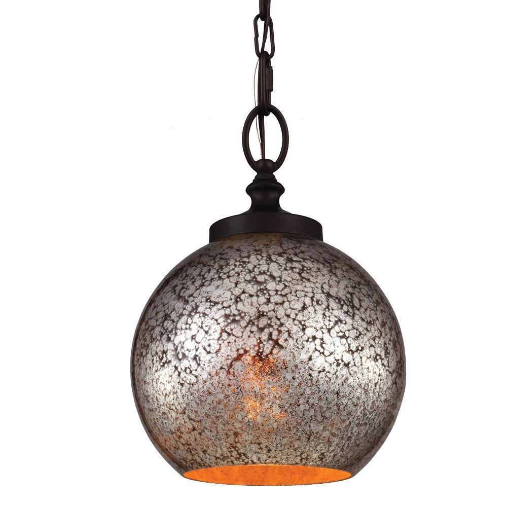Murray Feiss Tabby 8.5 in. W. 1-Light Oil Rubbed Bronze M...