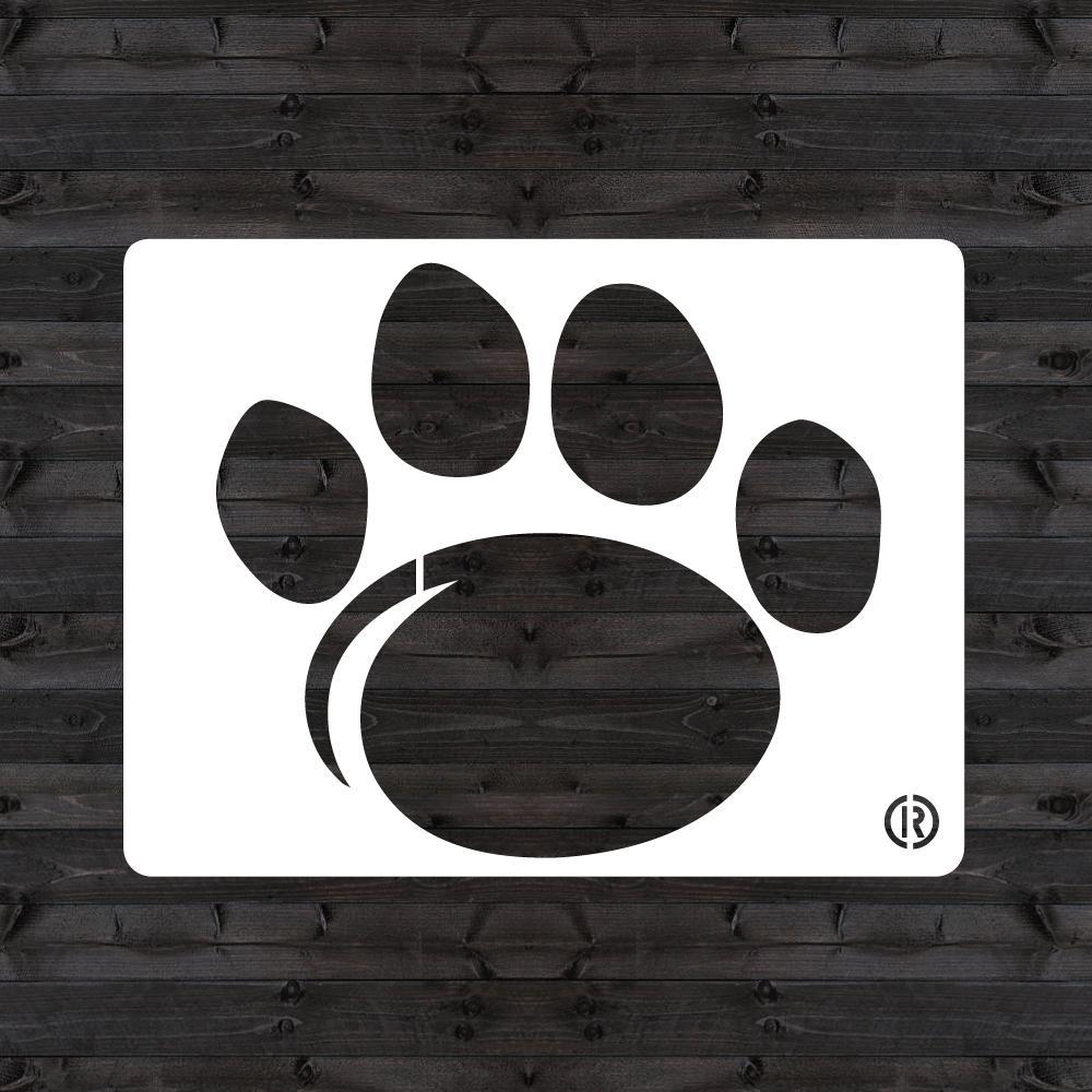 """Penn State """"PAW"""" Mini Stencil"""