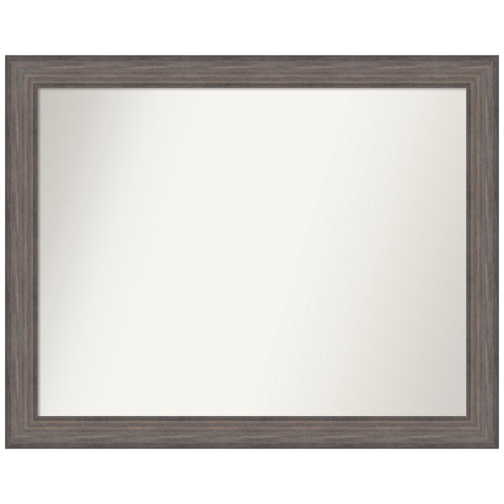 Amanti Art Choose Your Custom Size 44.25 in. x 35.25 in. Country Barnwood Decorative Wall Mirror was $569.95 now $279.84 (51.0% off)