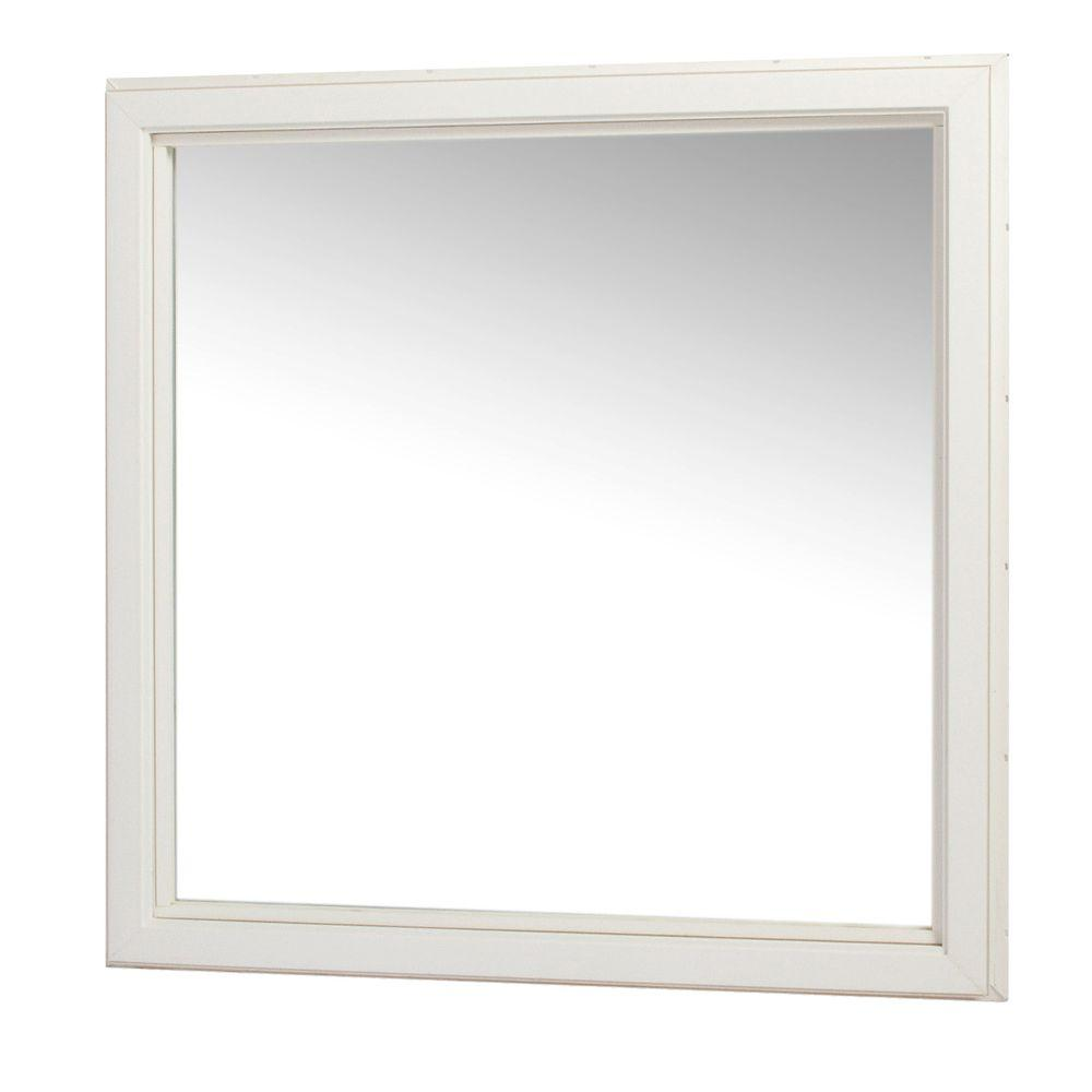 Tafco windows 48 in x 48 in casement picture window for Vinyl insulated windows