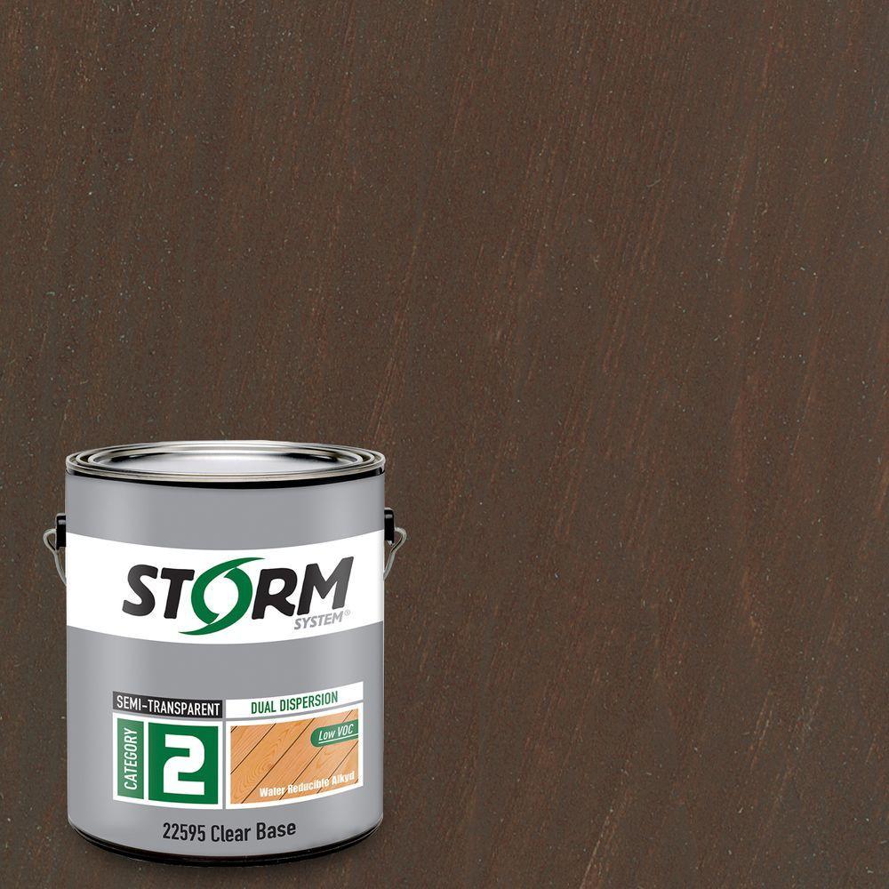 Category 2 1 gal. Cafe Grande Exterior Semi-Transparent Dual Dispersion Wood