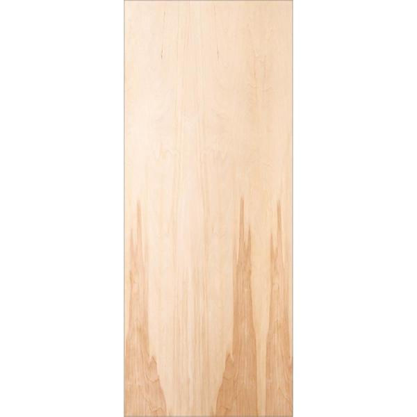 Jeld Wen 32 In X 80 In Birch Unfinished Flush Wood Interior Door Slab Thdjw160700432 The Home Depot
