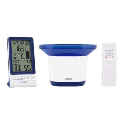 Wireless Digital Rain Station with Temperature and Humidity
