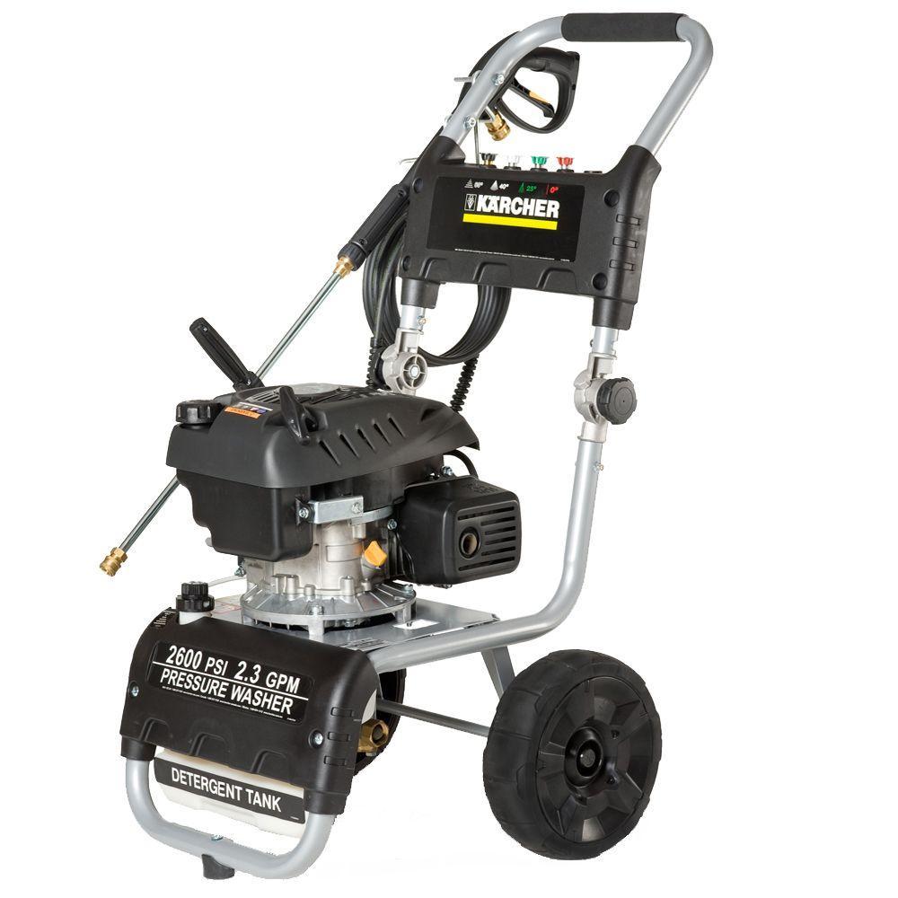Karcher 2600-PSI 2.3-GPM Gas Pressure Washer