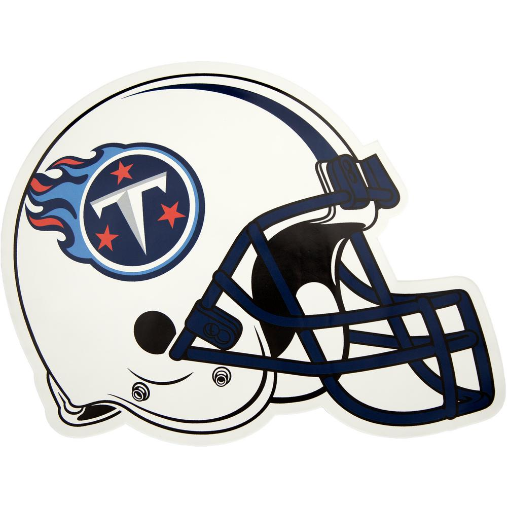 4fdf8d738f9 Applied Icon NFL Tennessee Titans Outdoor Helmet Graphic- Large ...
