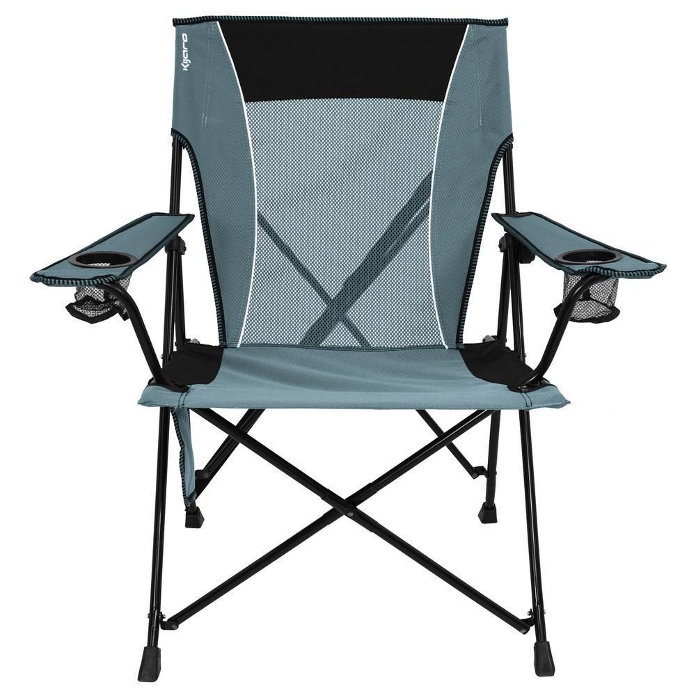 Kijaro Hallett Peak Gray Dual Lock Chair 54022 The Home