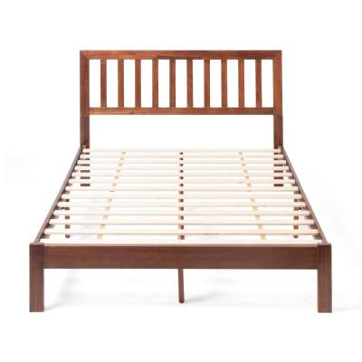 Norgate  Dark Oak Wood Queen Bed Frame