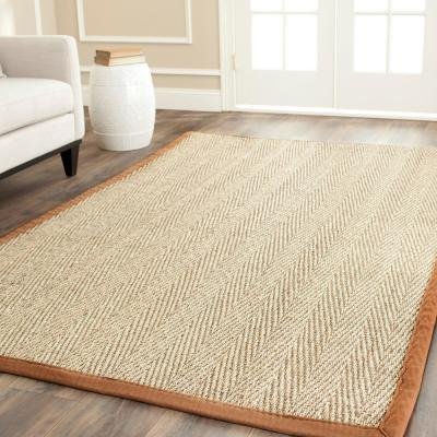 6 X 6 Square Brown Area Rugs Rugs The Home Depot