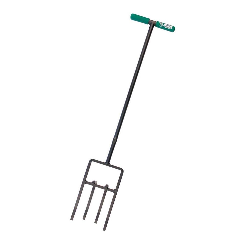 Dirt Ripper Cultivator with Steel T-Style Handle