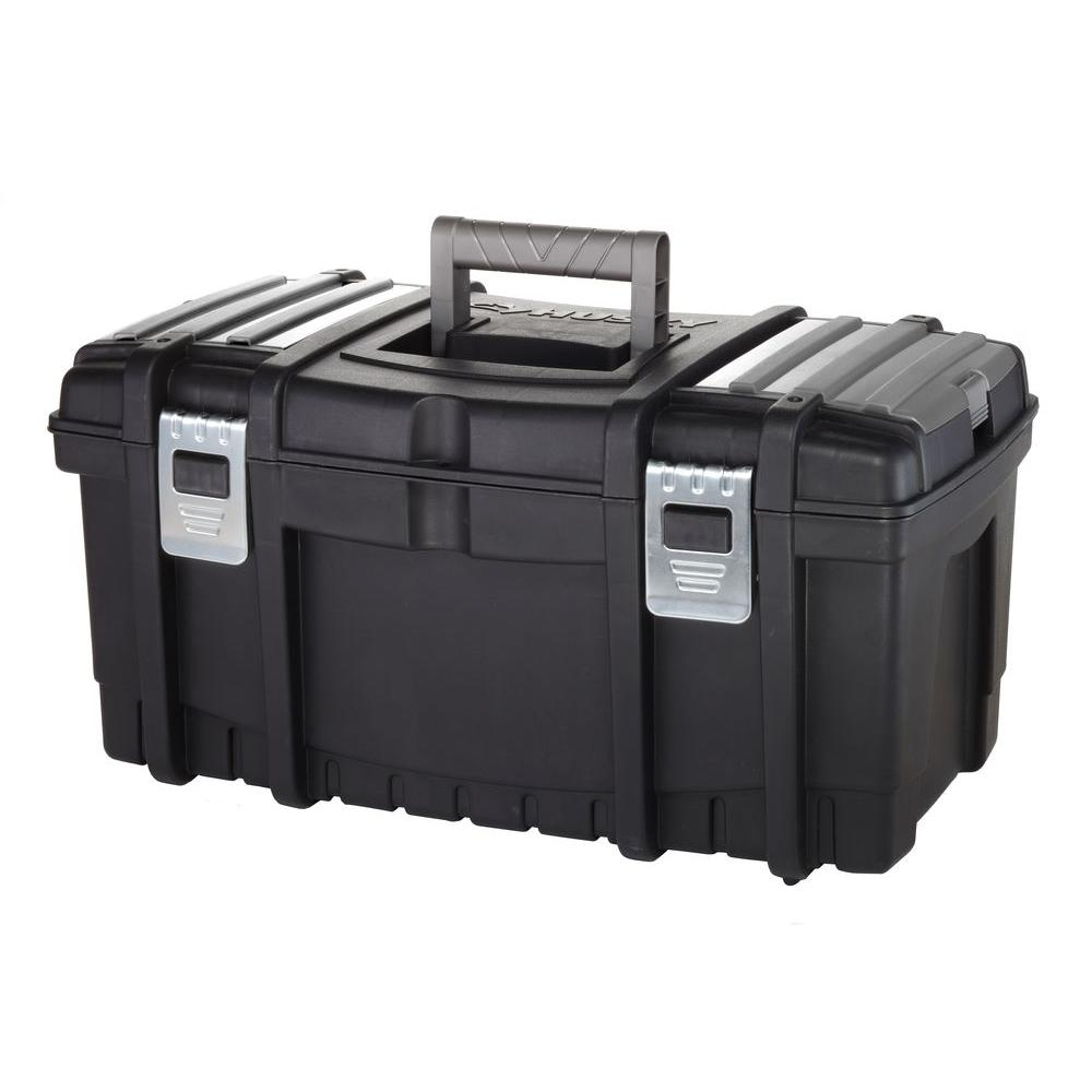Husky 22 in. Tool Box with New Metal Latches