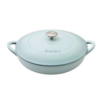 Natural Canvas Cast Iron 3.8 Qt. Shallow Casserole