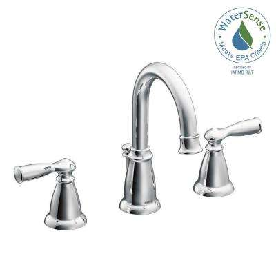 Banbury 8 in. Widespread 2-Handle Bathroom Faucet in Chrome