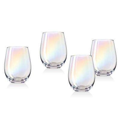 Monterey 19 oz. Crystal Stemless Wines (Set of 4)
