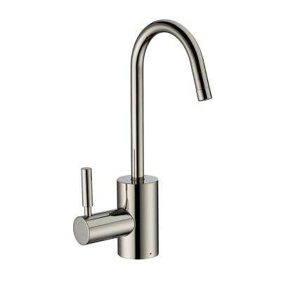 Single-Handle Instant Hot Water Dispenser in Polished Nickel