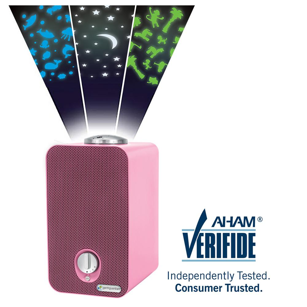 GermGuardian 4-in-1 Night-Night HEPA Air Purifier System with Projector