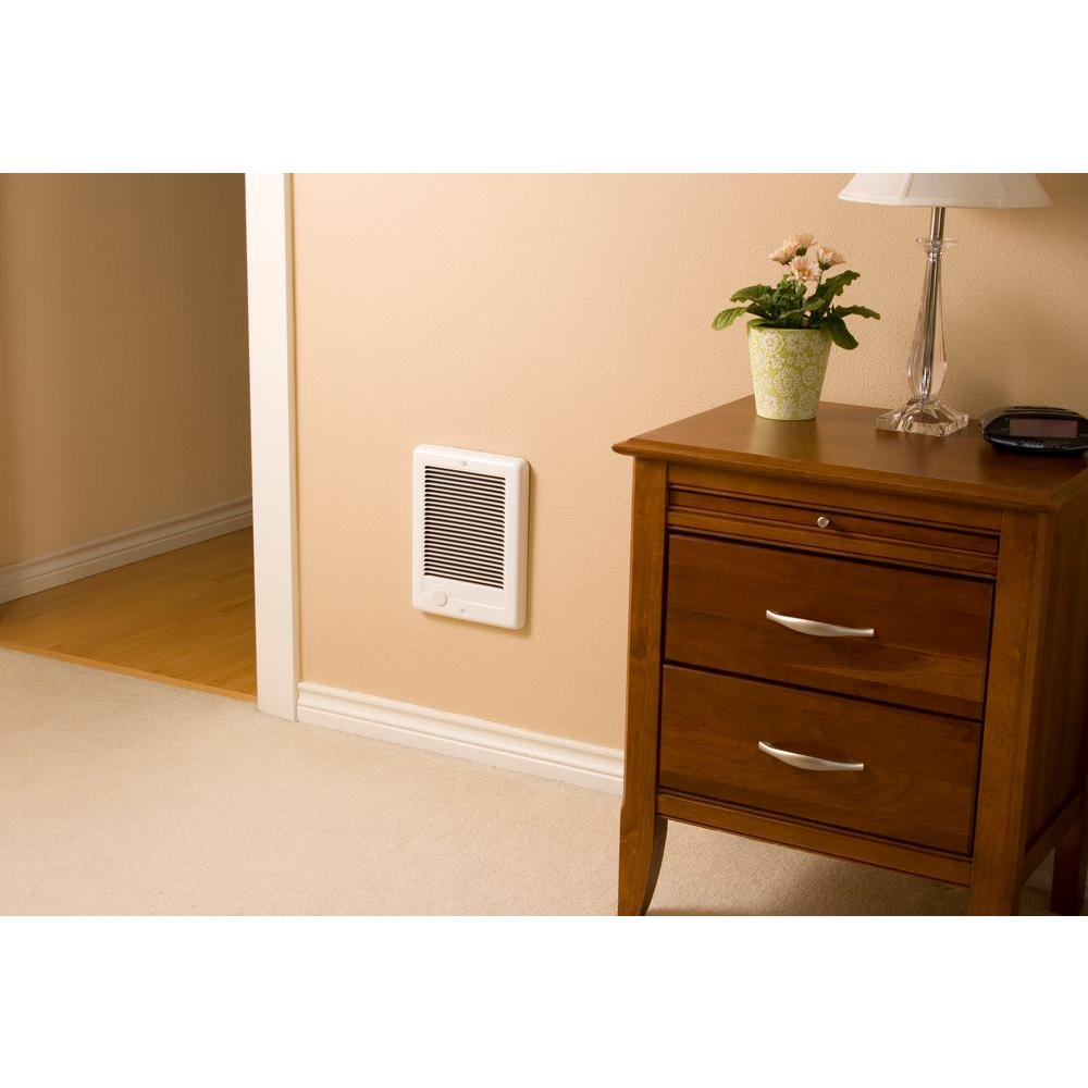 Cadet Electric In Wall Mount Electric Fan Space Heater Bath Bathroom