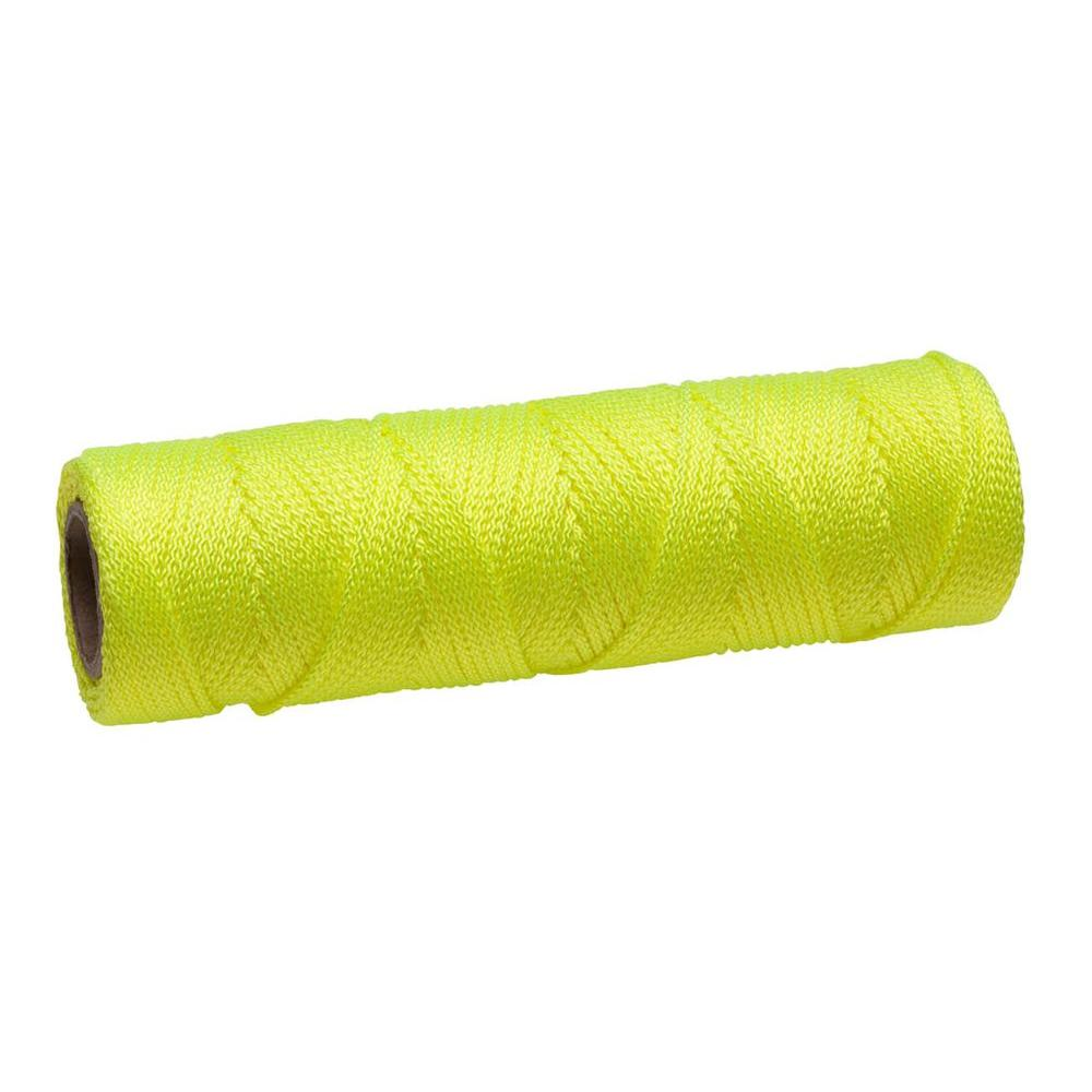 #18 x 250 ft. Yellow Braided Nylon Mason Twine