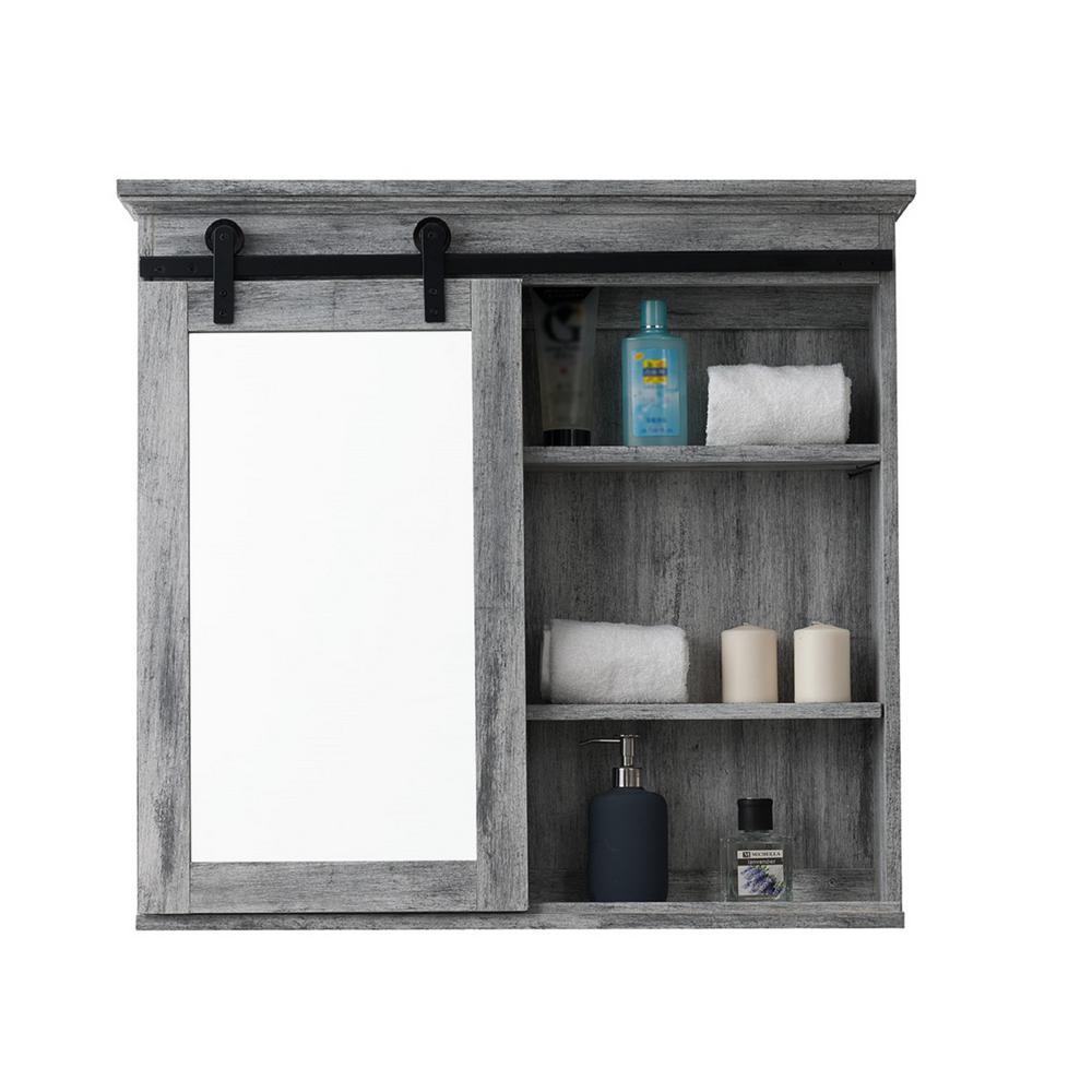 Barn Door Medicine Cabinet Sp5675