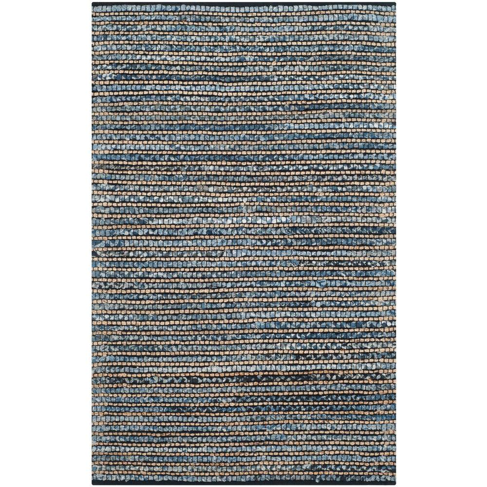 Cape Cod Blue 3 ft. x 5 ft. Area Rug