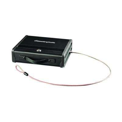 0.12 cu. ft. Portable Handgun Safe with Key Lock and Tether Cable