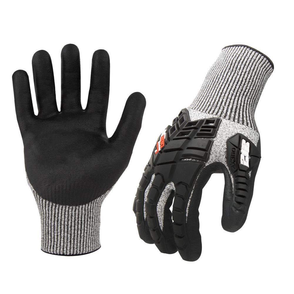 212 Performance AX360 2X-Large Impact Cut Resistant (EN Level 3, ANSI A2) Work Gloves