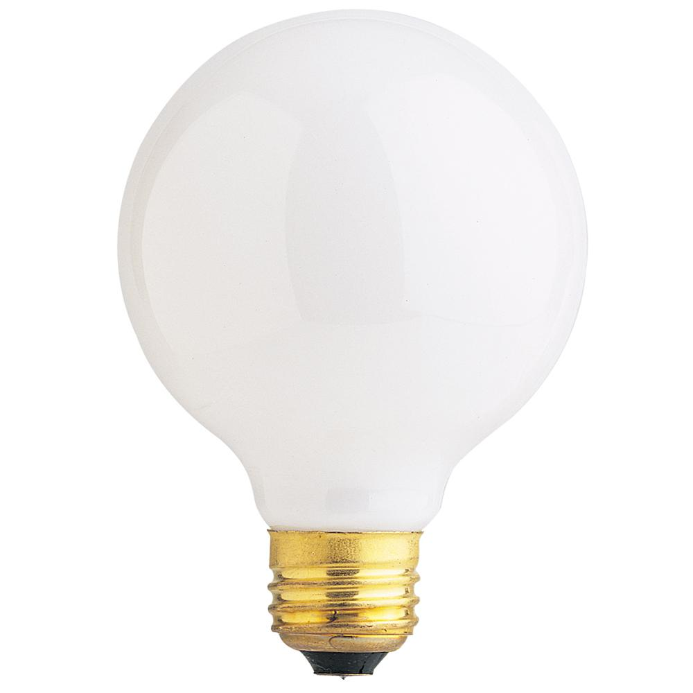 40-Watt Soft White Dimmable Incandescent G25 Frosted Light Bulb Maintenance Pack