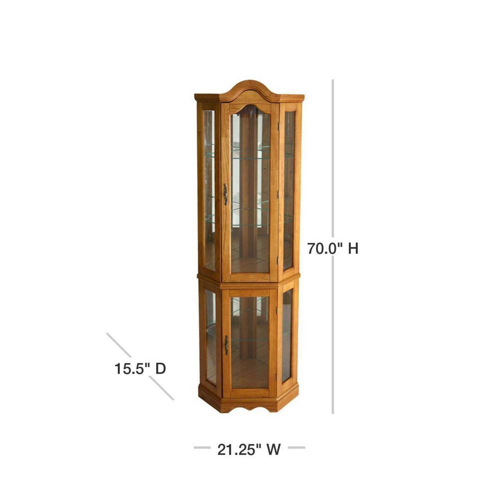 Gl Door Curio Cabinet