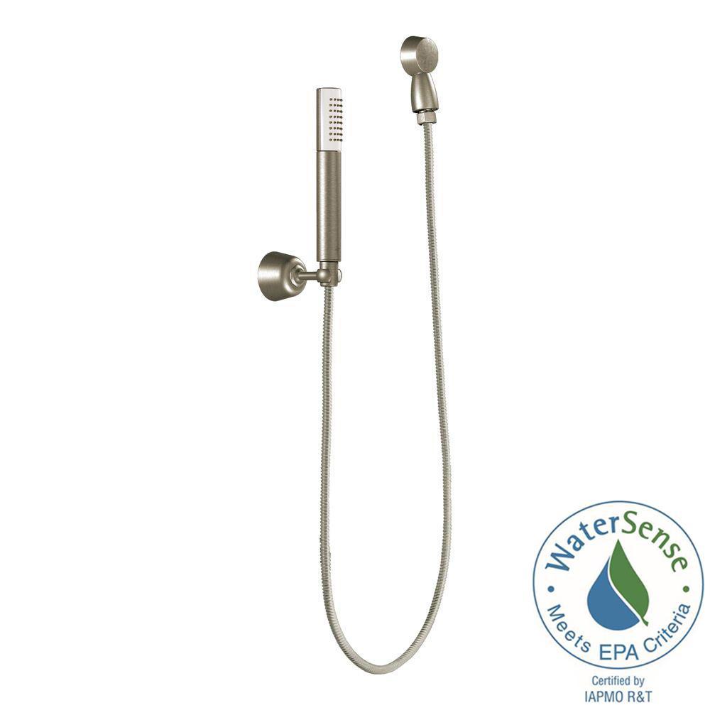 Fina 1-Spray Eco-Performance Handheld Hand Shower in Brushed Nickel