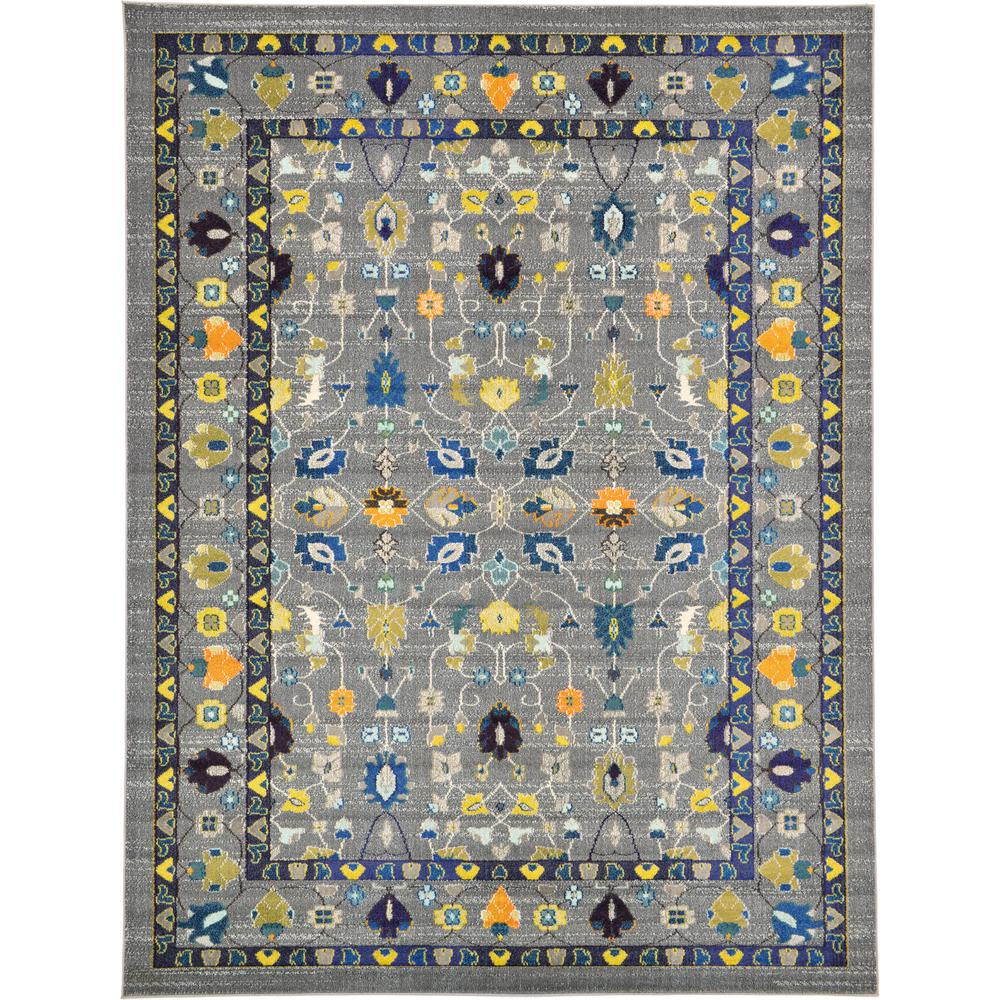 Fine Traditional Palazzo Gray 3 ft. 3 in. x 5 ft.