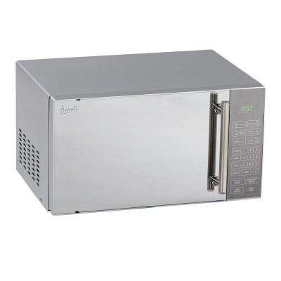 0.8 cu. ft. Countertop Microwave in Stainless Steel