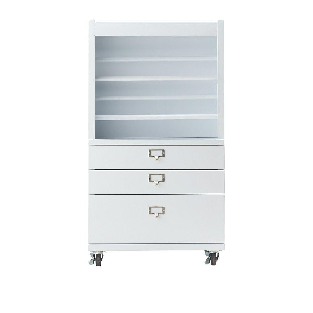 Home Decorators Collection Becker White Metal Wrapping