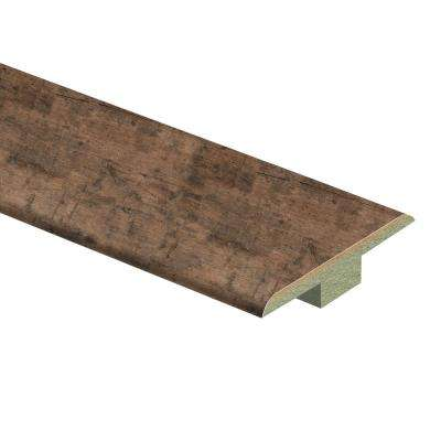 Rustic Grey Oak 7/16 in. Thick x 1-3/4 in. Wide x 72 in. Length Laminate T-Molding