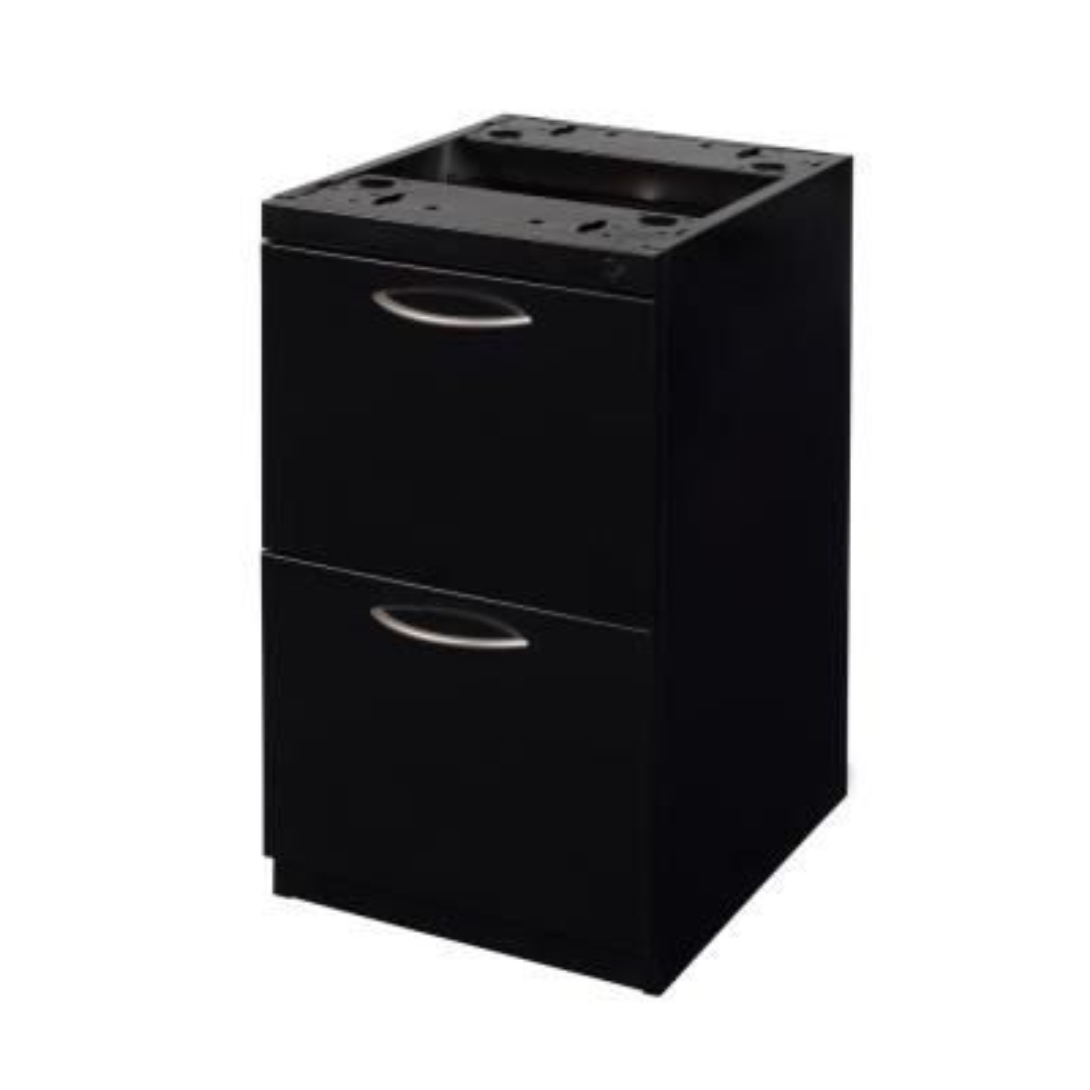 Fusion Black File File Pedestal