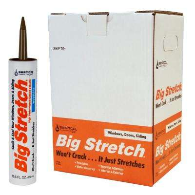Big Stretch 10.5 oz. Woodtone High Performance Interior Exterior Caulk (12-Pack)