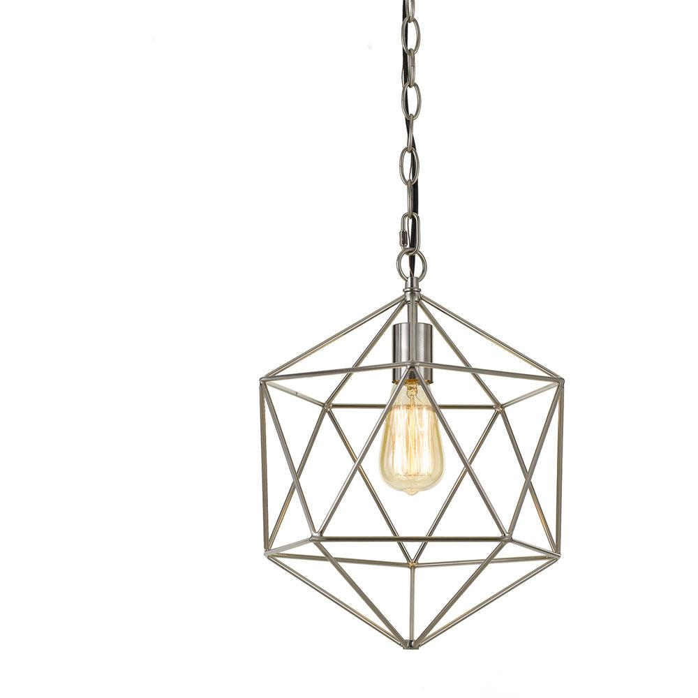 Descargar Doc Af Lighting Bellini 1 Light Nickel Chandelier