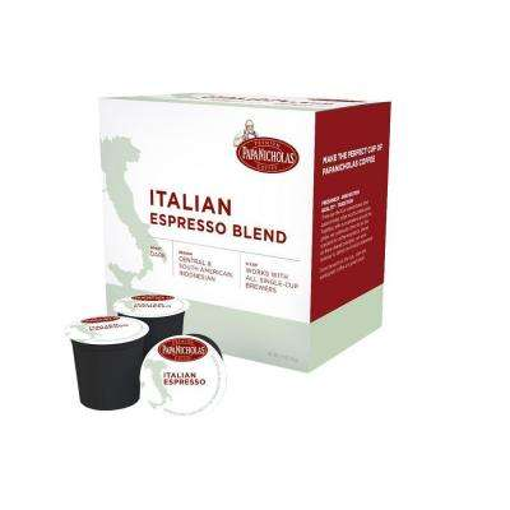 Italian Espresso Roast Coffee (72-Cups per Case)