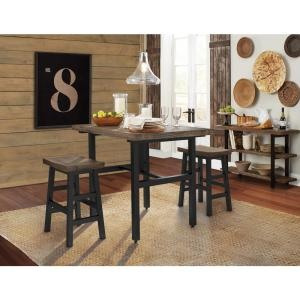 Alaterre Furniture Pomona 26 in. H Reclaimed Wood Counter ...